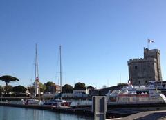 Beau temps au port de La Rochelle