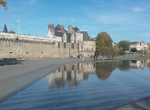 Beau temps � Nantes mais un peu frais
