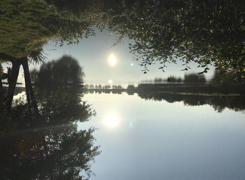 Beau soleil au plan d eau