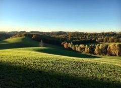 Grand soleil dans le Cantal