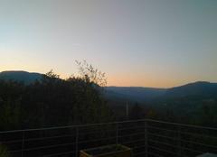 Changement d heure .   soleil se couche tôt