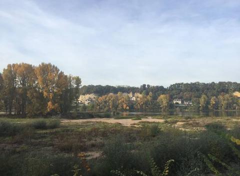 La Loire à sec à Tours, traversée possible