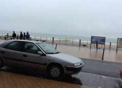 Pluie Ostende Mauvais temps