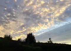 Le soleil se lève en Normandie