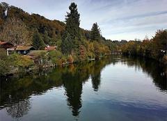 La riviere Loisach à Wolfratshausen