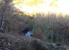 L'automne au gouffre de St Sauveur