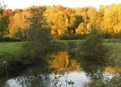 Les couleurs d automne a wa vrans sur l aa 62