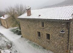 Neige Saint-Auban-sur-l'Ouveze 26170 Premiere neige