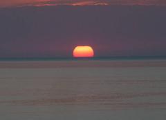 Ciel Sóller 07100 Coucher du soleil