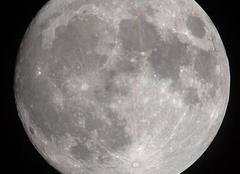 La lune ce soir