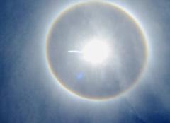 Phénomène optique solaire