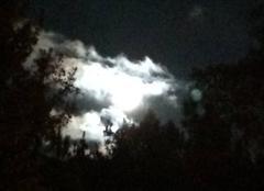 Ciel Sanguinet 40460 La super Lune
