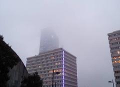 Lyon encore dans la brume