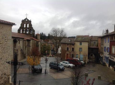 Grosses averses sur Beauzac
