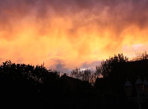 Un ciel de feux