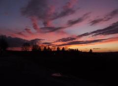 Coucher de soleil à Villers-Bocage