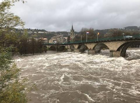 Crue Ardèche