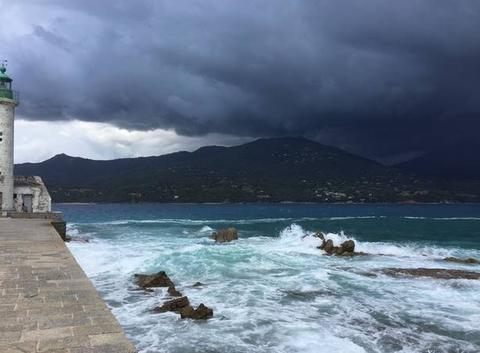 Coup de vent sur Propriano