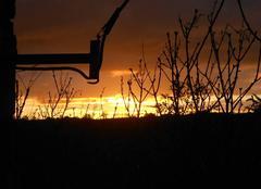 Le soleil se couche à Maurs (15)