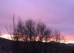 Ciel Wolschwiller 68480 Magnifique coucher du soleil