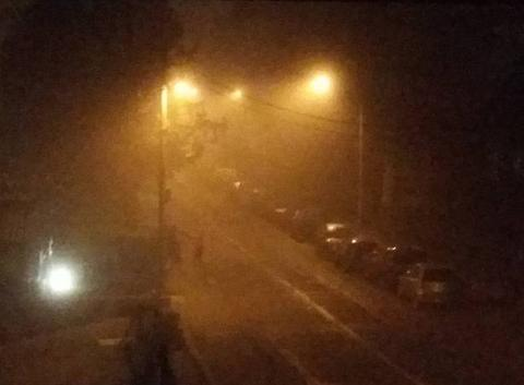 Brouillard givrant !!!