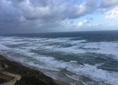 Tempête Netanya Tempête sur ISRAËL