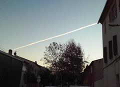 Droite aérienne..