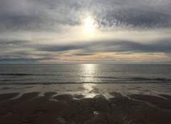 Ciel Lege-Cap-Ferret 33950 Coucher de soleil à la Pointe