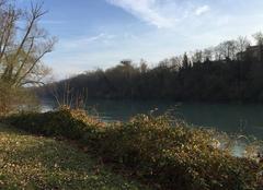 Sur les bords de l'Isère ce matin