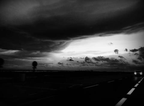 Un matin à Saint cyprien sur la route avec mes amours