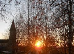 Levé de soleil ce matin sur Quézac (15)