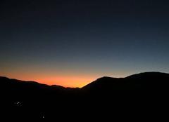 Crépuscule sur une Vallée Cévenole