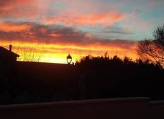Lever de soleil  a 8h 10