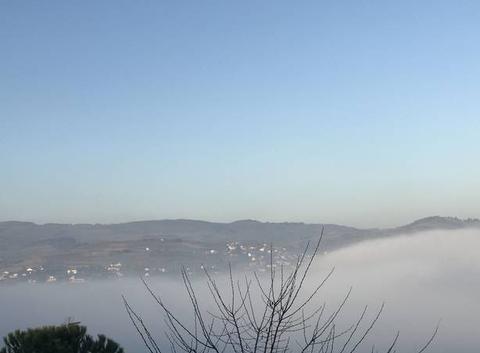 Chagnon sous le Brouillard