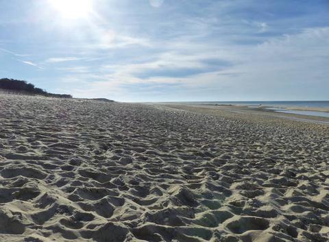 16°, personne sur la plage, le rêve, juste le bruit des vagues