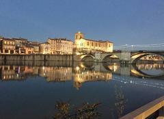 Ce soir sur le Pont Vieux et les quais de l'Isère