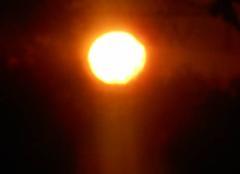 Soleil  levant....ciel   bleu....-1°....