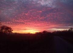 Ciel Beaumont-en-Argonne 08210 Ciel en feu