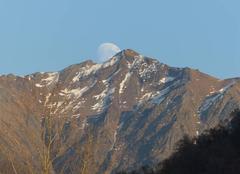Lever de lune samedi 16h30