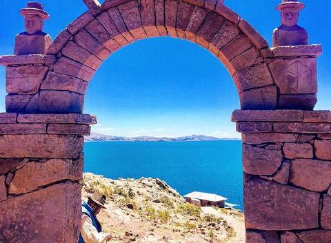 Île de taquile -lac titicaca au Pérou