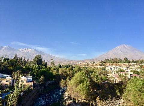 Arequipa et son volcan - Pérou