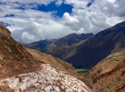 Les salines de Maras - Pisac au Pérou