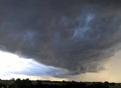 Nuages Devrouze 71330 Nuage d'orage