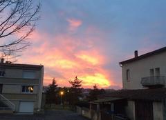 Joli coucher DE soleil