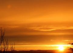 Lever de Soleil sur St Lézer 65500.