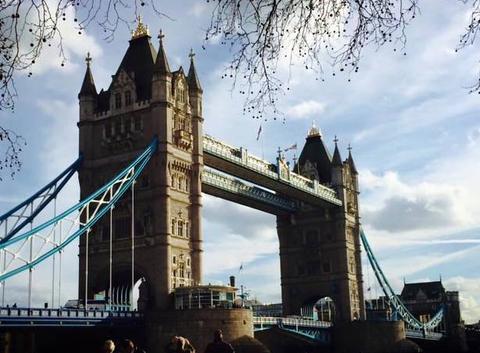 Ciel nuageux à Londres