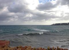 Mer Antibes 06600 Depuis les remparts d'Antibes