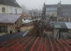 Il fait froid à Calais tout est gelé