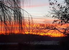 Ciel Saint-Martin-de-Sanzay 79290 Lever de soleil