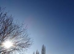 Ciel et soleil d'hiver